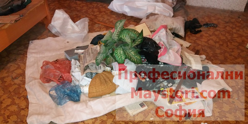 Хамали за извозване на мебели при изхвърляне