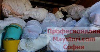 Изхвърляне на строителни отпадъци в София