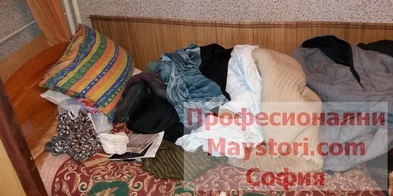 Извозване на боклуци в София
