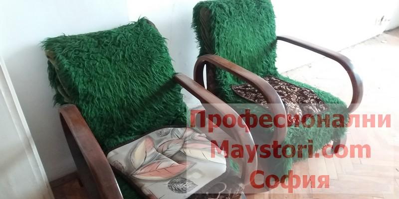 Извозване на диван с изнасяне